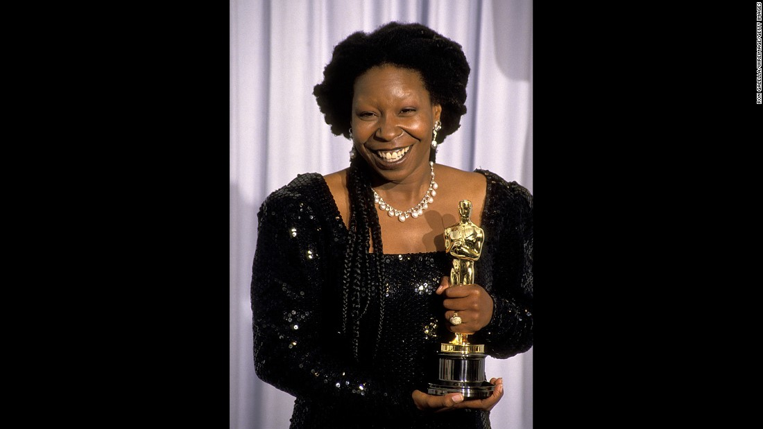 "Her role in ""Ghost"" won Whoopi Goldberg a best supporting actress trophy in 1991."