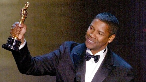 "Denzel Washington became the first African-American to win two Oscars in the acting categories when he won best actor in 2002 for ""Training Day."""