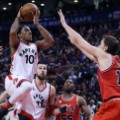 DeMar DeRozan of the Toronto Raptors