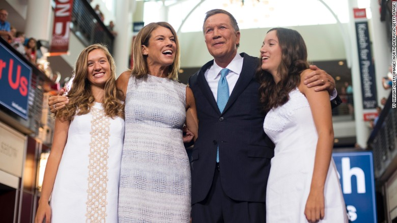 Kasich daughters open up about dad