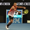Krygios black shorts Open 2016