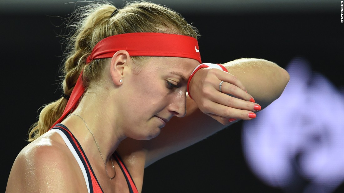 Czech Republic's Kvitova is a two-time Wimbledon champ.