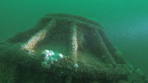 This German u-boat from World War I was discovered off England's coast.