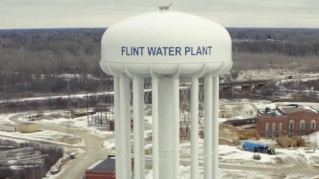 Image result for flint water plant tower