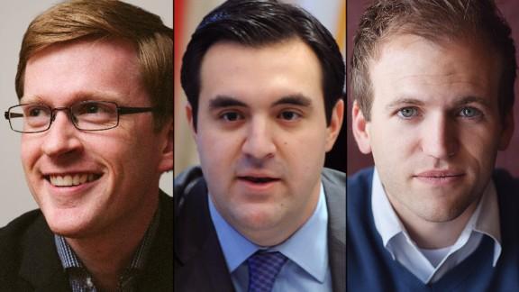 Eric Teetsel, Jordan Sekulow and Johnnie Moore represent the millennial evangelicals.
