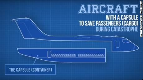 how realistic is a plane with a detachable cabin cnn travel