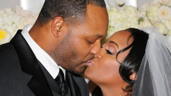 "Keshia Knight Pulliam's husband of only seven months, former football player Ed Hartwell, filed for divorce in July. The ""Cosby Show"" star said she was blindsided by the news which came soon after she announced she was pregnant with her first child."