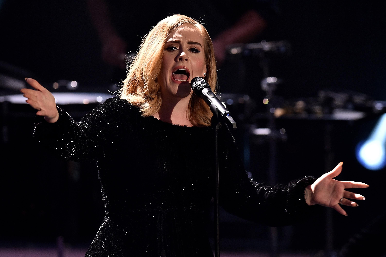 Adele Singing Hello On Ellen - Adele Hello Someone Like You