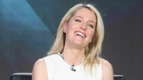 """""""The X-Files"""" star Gillian Anderson speaks out on Hollywood"""