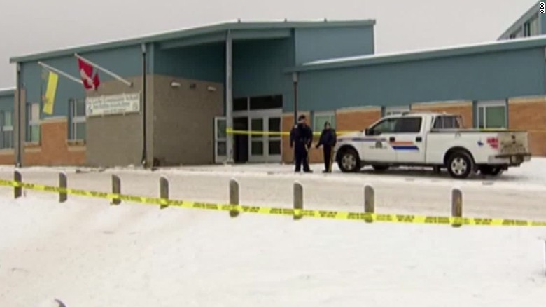 4 killings at school, residence shake Canadian town