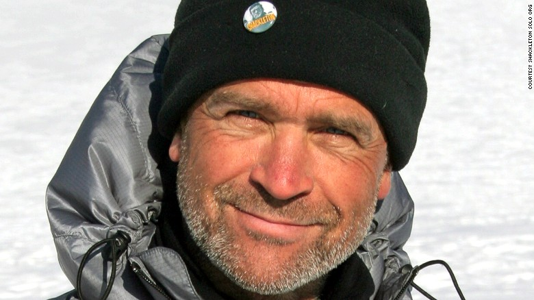 British Explorer Henry Worsley.