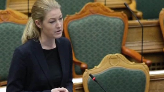 Immigration bill debated in Denmark's parliament.