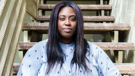 Chaz Whatley, 31, is  an unemployed teacher and says her bipolar disorder medication costs about $550 a month and Medi-Cal covers all but $1.