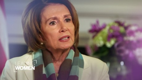 CNN Leading Women - Nancy Pelosi - January 2016_00002214