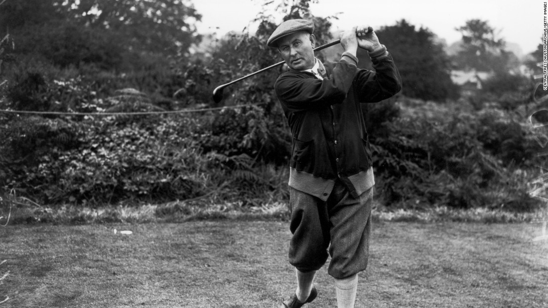 Fowler's 2016 get-up is a far cry from the threads of Harry Vardon, who won six British Opens and one U.S. Open between 1900 and 1914. But the Englishman paved the way for some of golf's later wardrobe whims.
