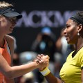Serena Williams Sharapova handshake