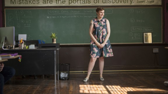 """Dunham's HBO series, """"Girls,""""<a href=""""http://www.hitfix.com/news/a-complete-timeline-of-every-girls-related-controversy"""" target=""""_blank"""" target=""""_blank""""> has been brazen about showing characters in various states of embarrassment and undress</a>, and Dunham has sounded off on social media about criticisms she believes are unfair."""