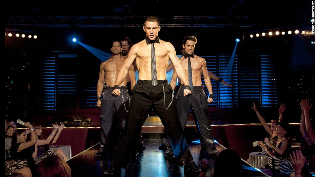 "<strong>""Magic Mike"":</strong> Channing Tatum based this film on his real-life experience as a young stripper. <strong>(HBO Now)  </strong>"