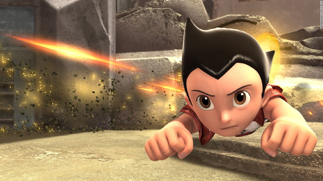 "<strong>""Astro Boy"":</strong> Charlize Theron, Freddie Highmore and Nicolas Cage provide the voices in this story of an android boy trying to find his identity. <strong>(Hulu) </strong>"