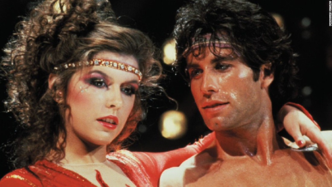 "<strong>""Staying Alive"":</strong> John Travolta reprises his ""Saturday Night Fever"" role in this sequel. This time, disco king Tony Manero tries to break into dancing on Broadway along with Laura, played by Fiona Hughes. <strong>(Hulu)</strong>"