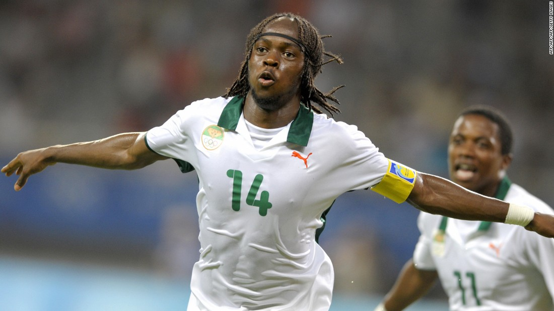 Former Arsenal and Roma winger Gervinho (seen playing for Ivory Coast) completed a transfer of nearly $20 million to Hebei China Fortune in the China Super League.
