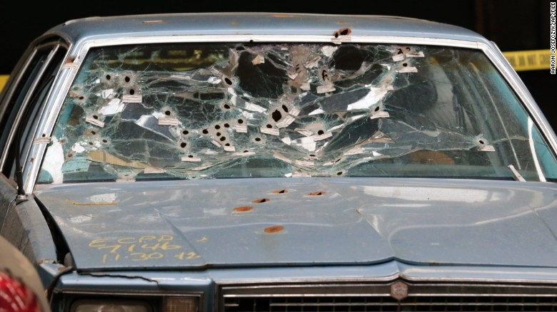 Cops who fired 137 shots after car chase fired