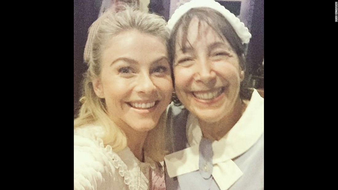 "Dancer Julianne Hough, left, takes a selfie with actress Didi Conn ahead of the upcoming television show ""Grease: Live"" on January 31. Conn played Frenchy in 1978's ""Grease,"" and she'll be appearing on the Fox show this month. Hough is playing Sandy on the show, while singer Carly Rae Jepsen is playing Frenchy. ""Can't wait for you all to see the two frenchy's in one scene together... It's pretty special!"" <a href=""https://www.instagram.com/p/BA-Ml7yif34/"" target=""_blank"">Hough said on Instagram</a> on Monday, January 25."