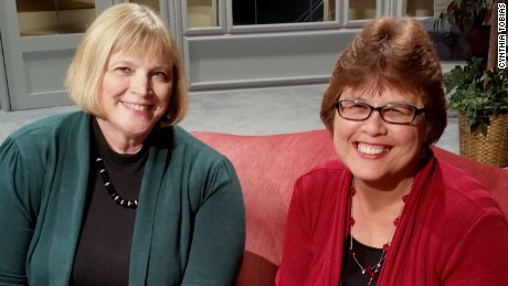 "Cynthia Tobias (left) and Sue Acuña, co-authors of ""Middle School: The Inside Story"""