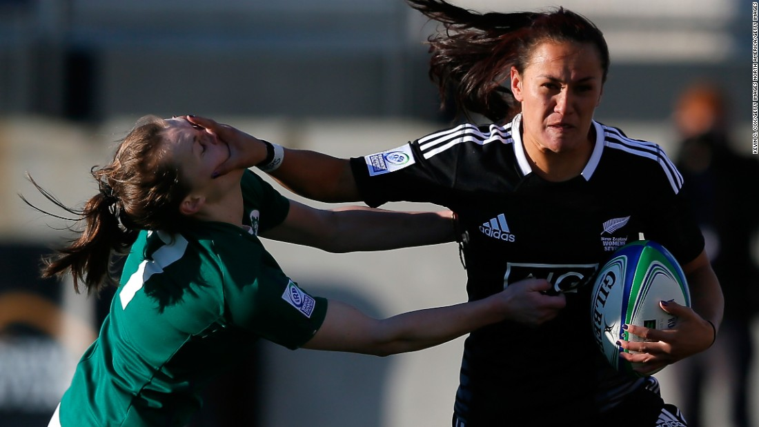 Portia Woodman is one of the leading players on the women's rugby sevens circuit.
