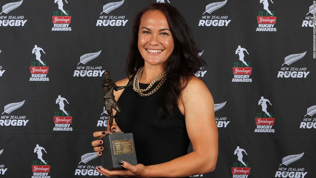 The former netballer was named New Zealand's Women's Sevens Player of the Year after her first full season playing the game, having made her debut in 2013.