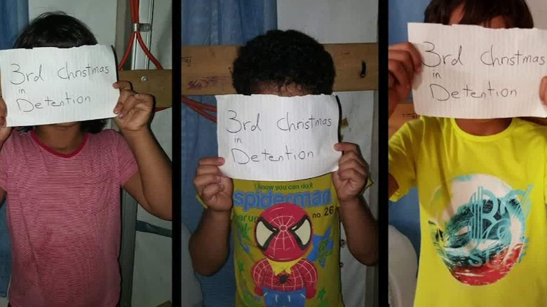 Horrific abuse claims in Nauru detention center