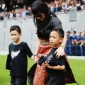 jonah lomu's widow and sons