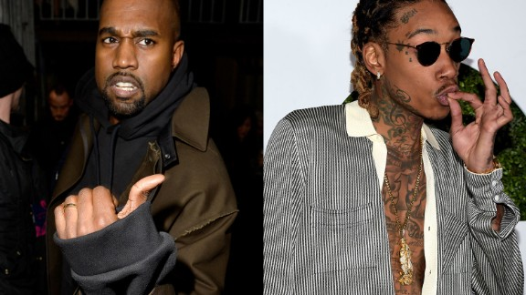 West went in on fellow rapper Wiz Khalifa in a series of tweets in January 2016, after Khalifa was critical of the title of West's new project. West later deleted several of the tweets.