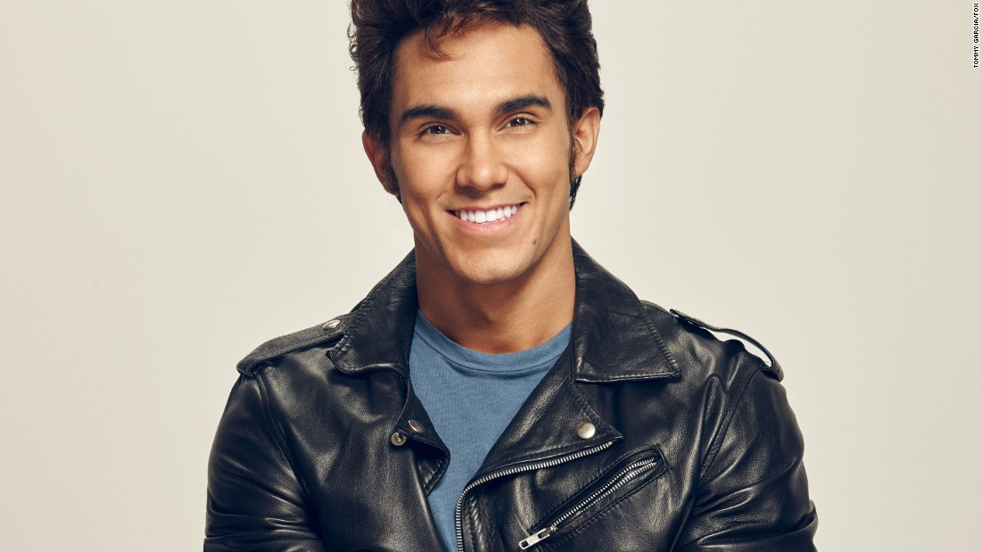 "Carlos PenaVega, who plays Kenickie in ""Grease: Live,"" is part of the group Big Time Rush (and was on the TV show of the same name) and hosted Nickelodeon's game show ""Webheads."""