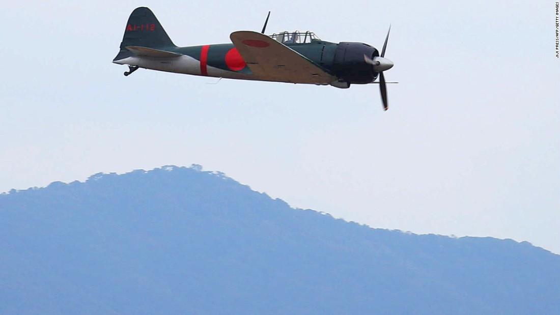 Zero fighter plane returns to Japan's skies - CNN