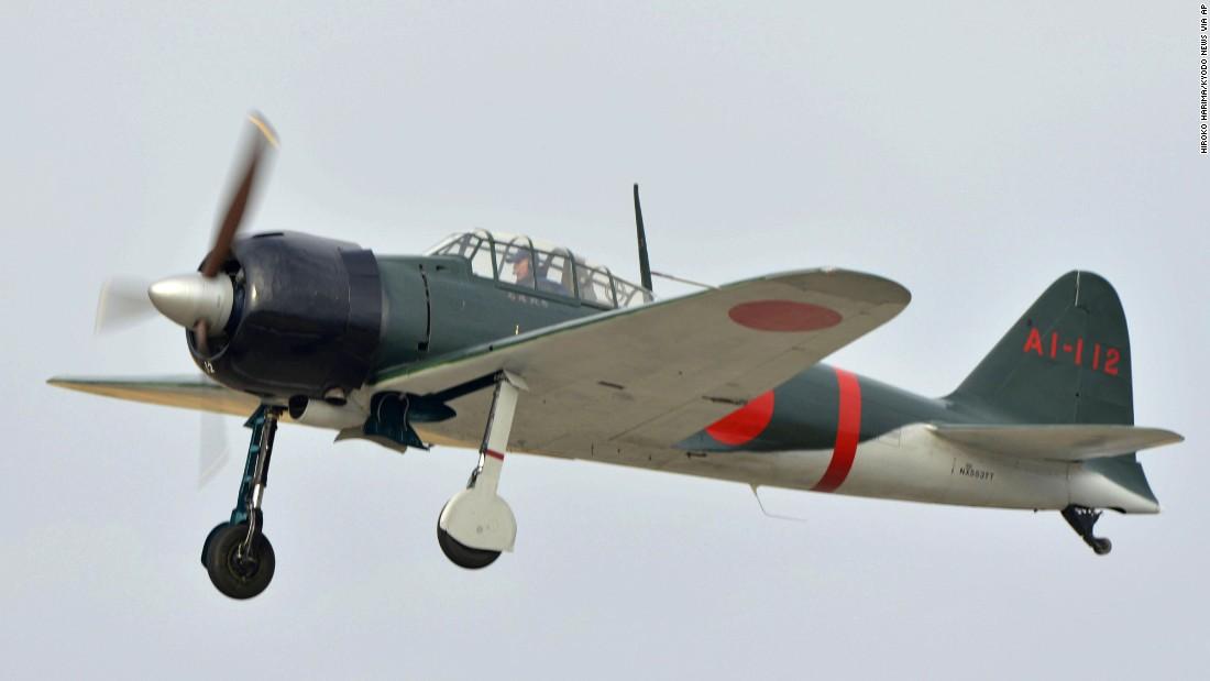 Zero Fighter Plane Returns To Japans Skies Cnn