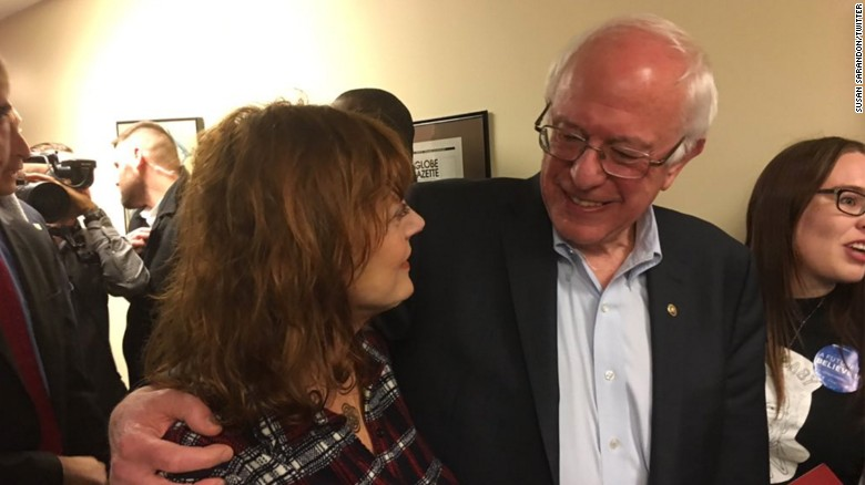 Sarandon: I got emotional being with Sanders supporters