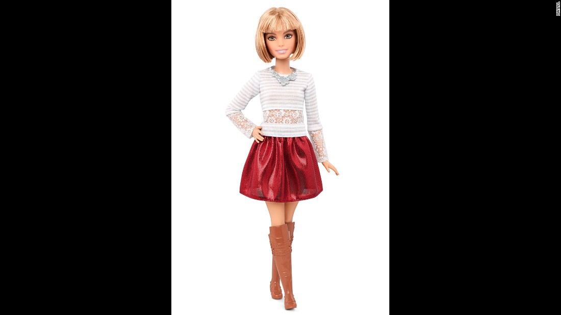 For now, the new Barbies are available only at Mattel's online