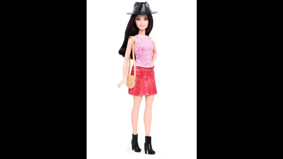 "Here's another style of ""Petite Barbie."""