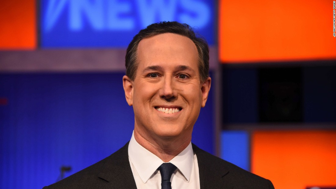 """The entire lead-up to this debate was about whether Donald Trump was going to show up to the next debate,"" Santorum said. ""The people of Iowa ... care a lot about the issues. They care about who's going to be the leader of the free world."""