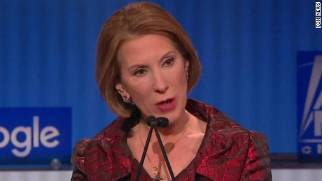 Fiorina: I will not give a dime to Planned Parenthood
