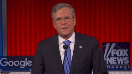 Jeb Bush dismisses the split in the GOP vote