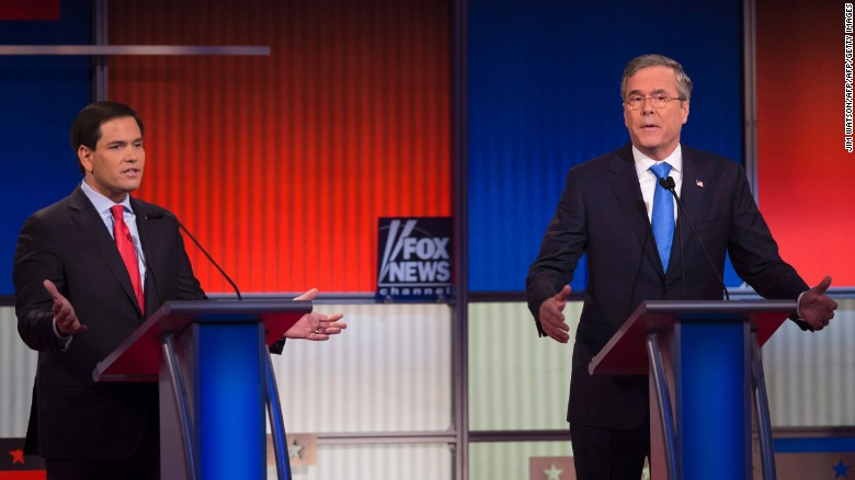 Rubio and Bush argue over immigration