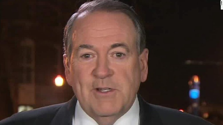 Mike Huckabee: I'm happy to be here
