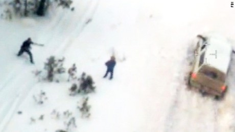 What happened during the chase that ended in LaVoy Finicum's death