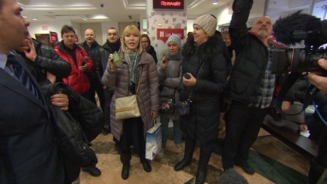 Russia's mortgage crisis spark protests