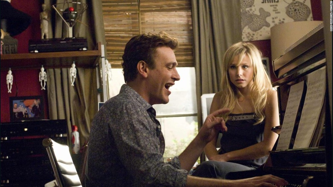 """Forgetting Sarah Marshall,"" with Jason Segel and Kristen Bell, follows a sad-sack guy to Hawaii on his quest to forget about his lost love."