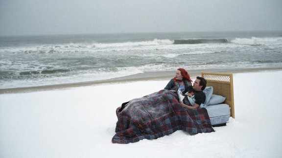 """In """"Eternal Sunshine of the Spotless Mind,"""" Jim Carrey and Kate Winslet undergo an experimental procedure to wipe any trace of their relationship from their memories after it goes sour. How could anyone forget a punk rock Kate Winslet, though?"""