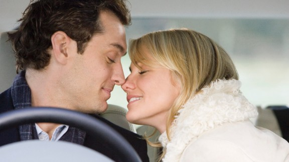"""Cameron Diaz takes a little post-breakup trip across the pond in """"The Holiday"""" and unexpectedly finds romance with Jude Law."""