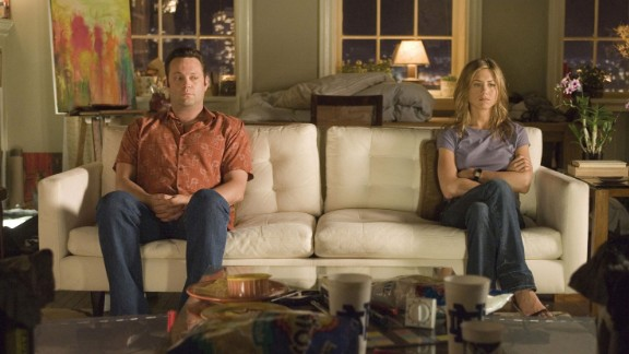 """They say misery loves company. If you're trying to get over the demise of a promising relationship or simply feeling down on love, a breakup movie might be just the ticket. Jennifer Aniston and Vince Vaughn can't afford to move out of their apartment post-split in the movie """"The Break-Up."""" When the former lovers become hostile roommates, hilarity ensues."""